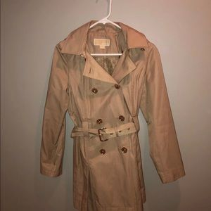 Micheal kors trench coat